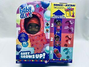 New Listing Baby Alive Baby Grows Up Bonus Pack, 14 Bonus Party Surprises SWEET BLOSSOM