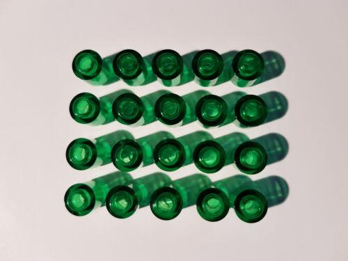#AC04 Ouvert Lego 20 x 3062 B Pierre 1 x 1 Vert Transparent Clair 3006848