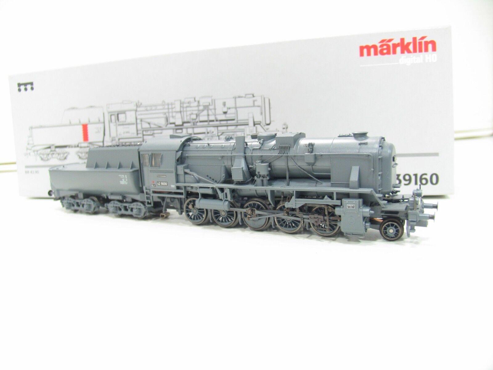 39160 locomotiva BR 42.90 Franco Crosti grigio delle DB DIGITAL nl335