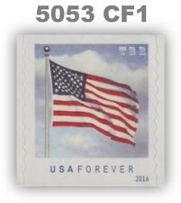 5053 (CF1) Single Postal Counterfeit US Forever Flag & Clouds 2016 MNH -Buy Now