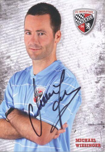 Michael Wiesinger FC Ingolstadt Autogrammkarte original signiert 324911