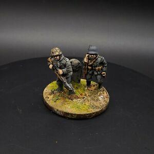 Dipinto 28mm BOLT ACTION tedesco 2 MAN SNIPER SQUADRA #1