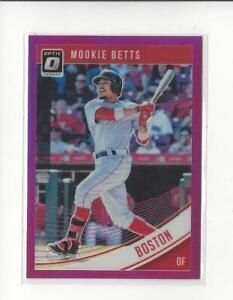 2018-Donruss-Optic-Purple-156-Mookie-Betts-Red-Sox