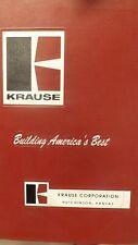 Kuhn Krause Parts Manual For 8100 Tandem Disc Harrow