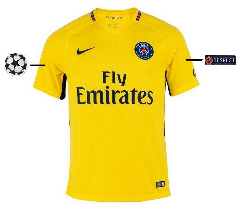 Trikot Nike Paris Saint-Germain 2017-2018 Away UCL    PSG 494bd7