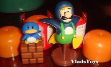 Furuta Choco Egg Super Mario Bros. Wii #2 Luigi Penguin & Penguin Suit US Dealer
