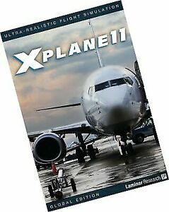 X-plane 11 Global Flight Simulator 8 DVD Set