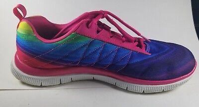 12067 Pink Multi Skechers Shoes Women's Memory Foam Sport