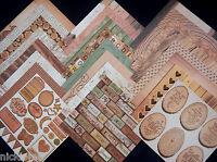 12x12 Scrapbook Paper Cardstock Dcwv Good Wood Rustic Wedding Love Nature 24 Lot