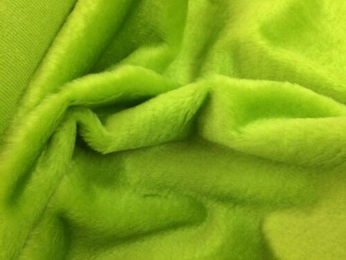 Faux Fur Fabrics Assorted Colours