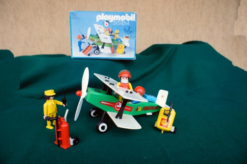PLAYMOBIL SYSTEM  antico  1974  ART. nr 3246  made in Gerhommey con box  coloris étonnants