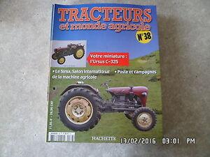 FASCICULE-TRACTEURS-ET-MONDE-AGRICOLE-N-38-URSUS-C-325