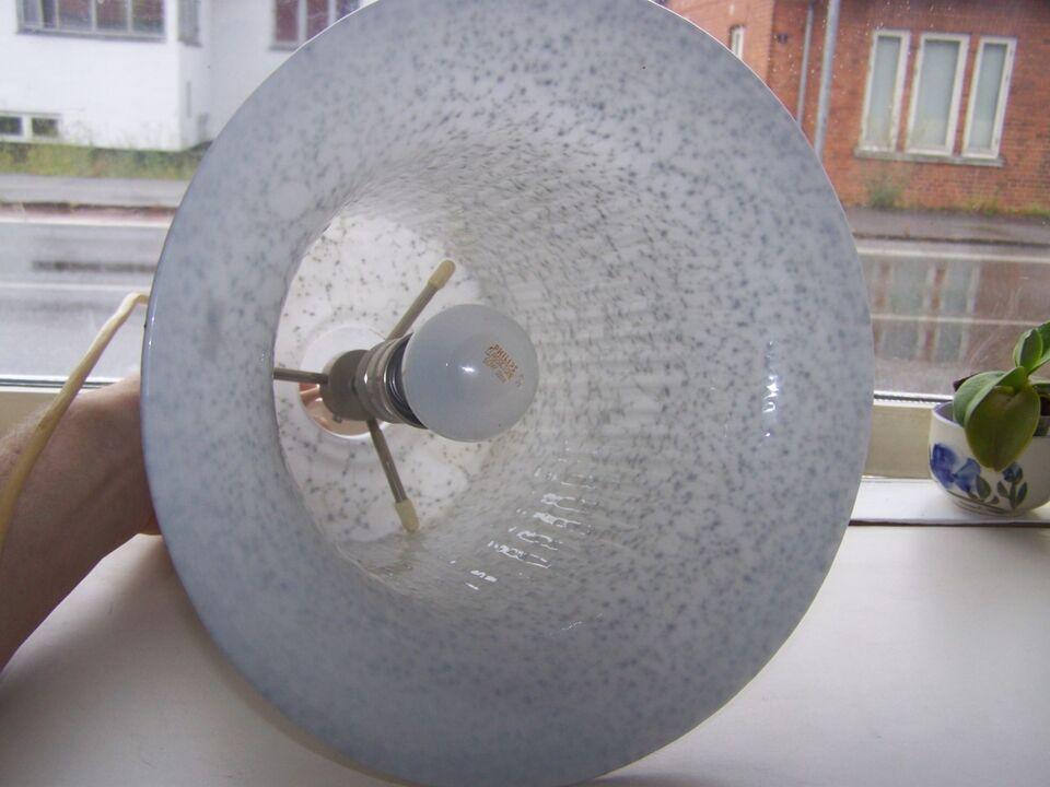 Anden loftslampe, handlavet glas loftlampe