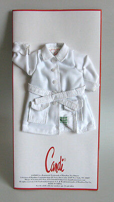 """WHITE FASHION DOLL SHORTS fit 11.5-12/"""" Candi Barbie Integrity fully lined NEW"""