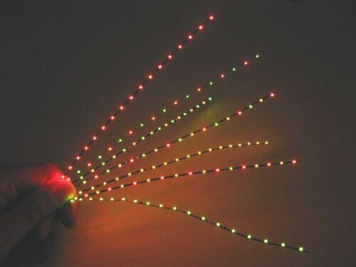 für Kirmes und Biergarten LED Lichterkette gelb nur 1,4mm breit