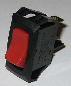 carling tech switch illuminated rocker spst 125v 16a. Black Bedroom Furniture Sets. Home Design Ideas
