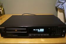 SONY CDP-311 COMPACT DISC PLAYER HIGH DESTINITY LINEAR CONVERTER BLACK