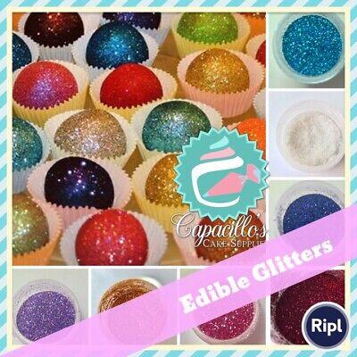 food grade Rose gold Edible glitter disco dust Cake edible decoration
