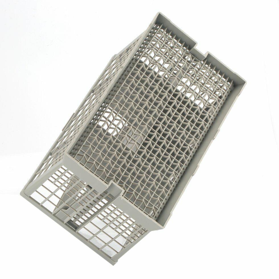 Qualtex Universal Dishwasher Cutlery Silverware Basket Holder Grey
