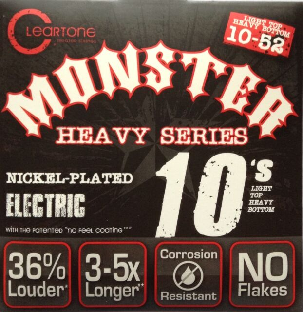 Cleartone Monster 9420M Nickel Plated Electric Guitar Strings 10-52