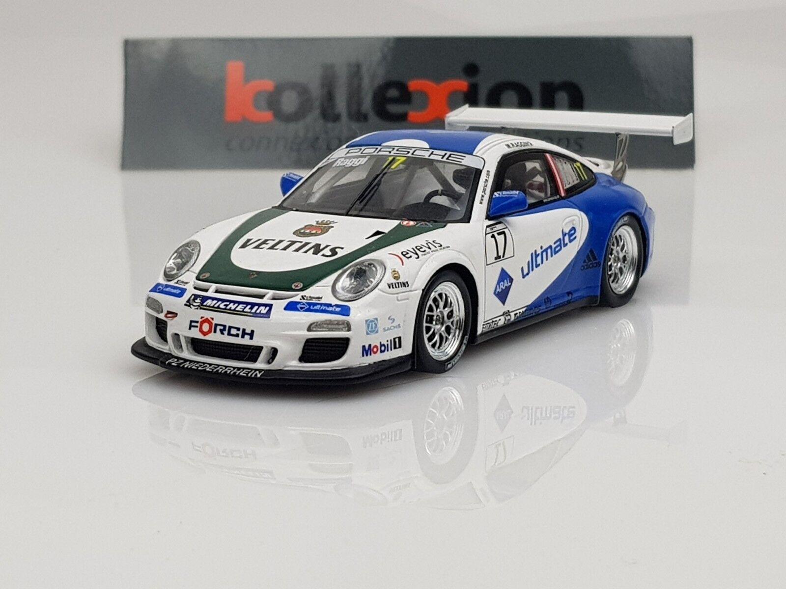 SPARK PORSCHE GT3 Cup n°17 Carrera Cup Deutschland 2010 M.Ragginger 150 Pcs 1.43