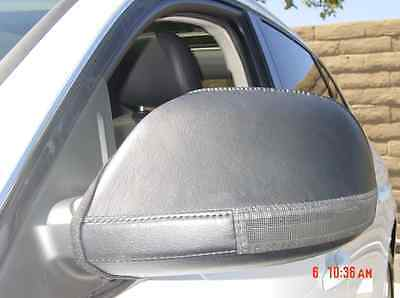 Colgan Car Mirror Covers Bra Protector Black Fits Audi Q5 13-16 w//sign/&pud light