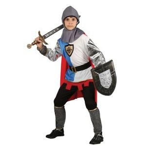 Image is loading Child-KNIGHT-OF-THE-REALM-Fancy-Dress-St-  sc 1 st  eBay & Child KNIGHT OF THE REALM Fancy Dress St George King Arthur Costume ...