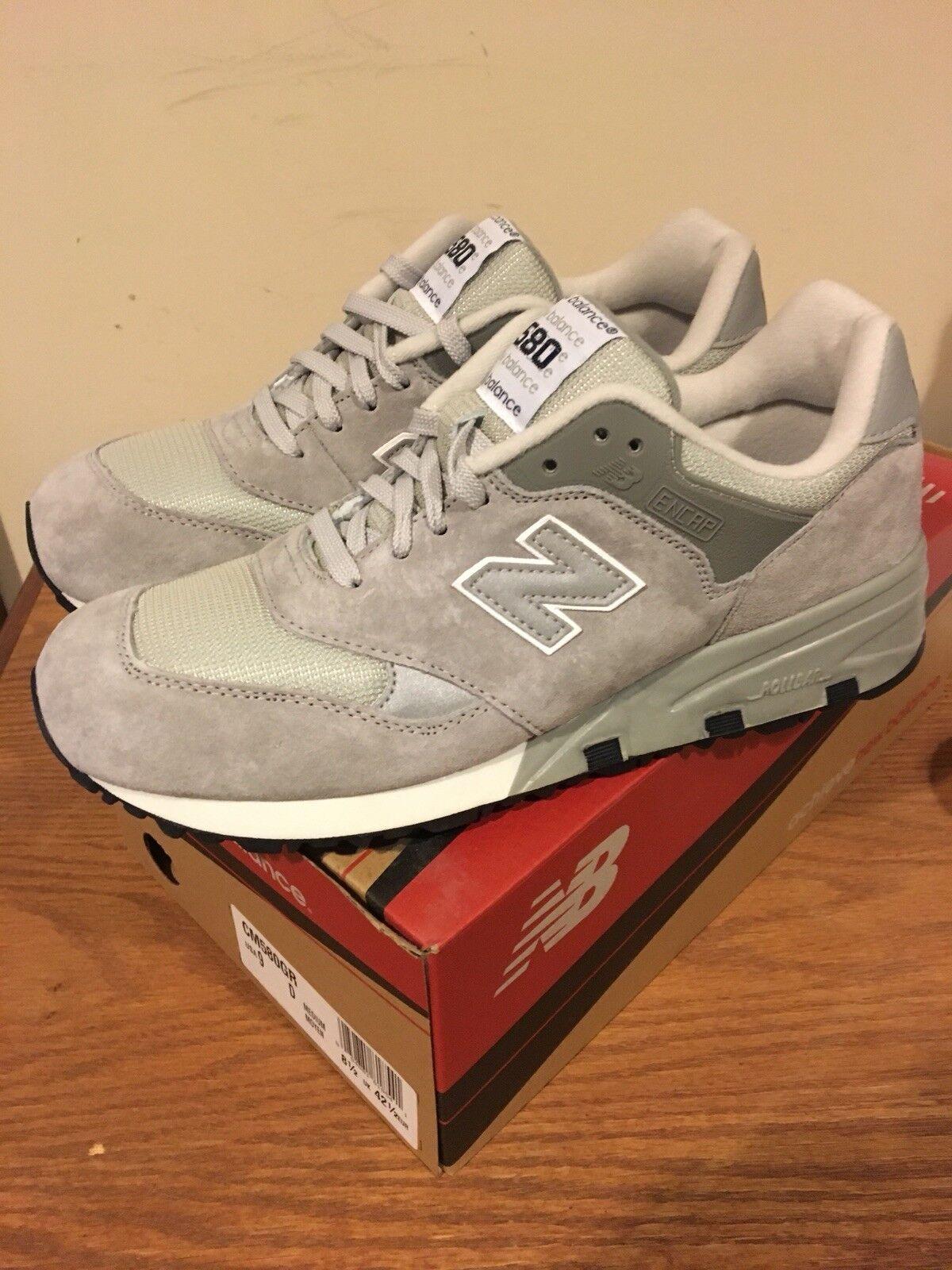 New Balance CM 580 GR Grey Size 9 New
