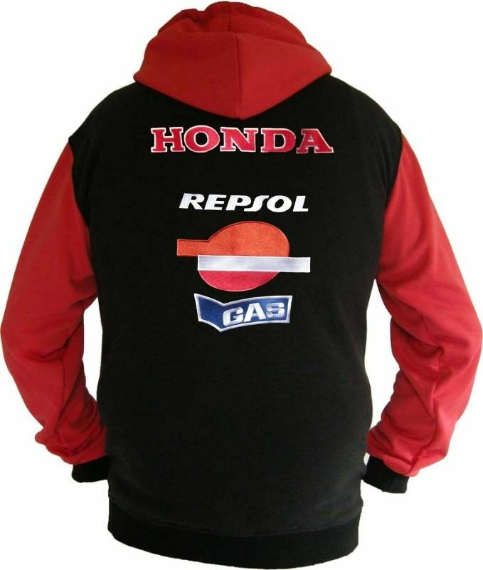 Honda Repsol Racing Fan Sweatshirt Kapuzenjacke Hoodie Lieferz. ca. 8 Tage