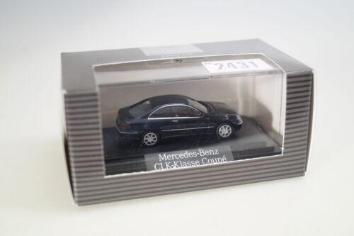 neu 1:87 Wiking dealer edition B66961335 MB CLK Coupe schwarz