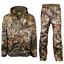 miniature 1 - Habit Men's Real Tree Edge Windproof & Waterproof Hunting Jacket & Trousers Set