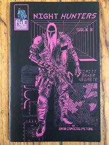 Night Hunters #3 Alexis Zeritt Dave Baker 2021 Cyberpunk NEW Uncirculated NM+