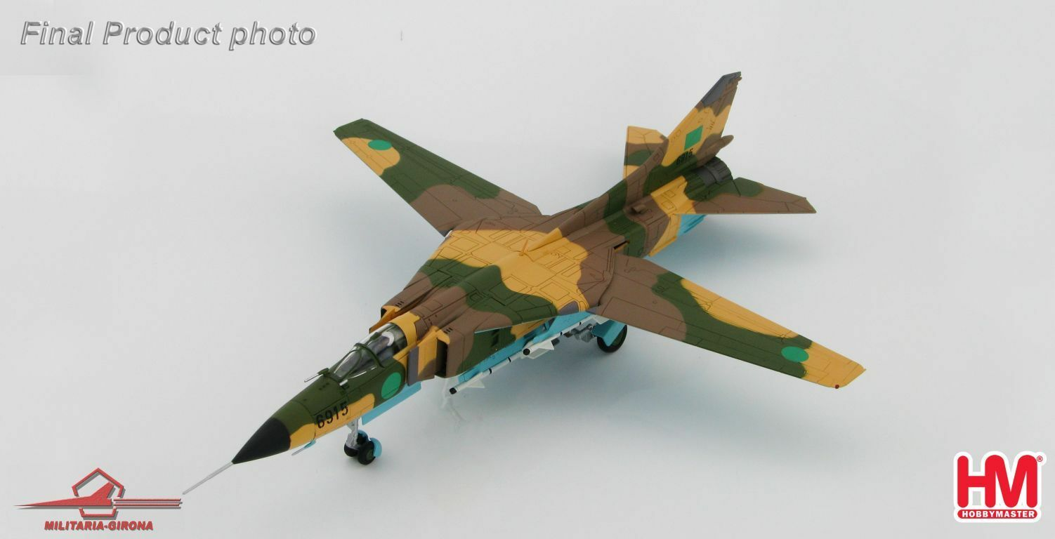 Hobby Master 172 HA5302 MIG-23MS Flogger Fighter Aircraft 6915, Libyan A.F.