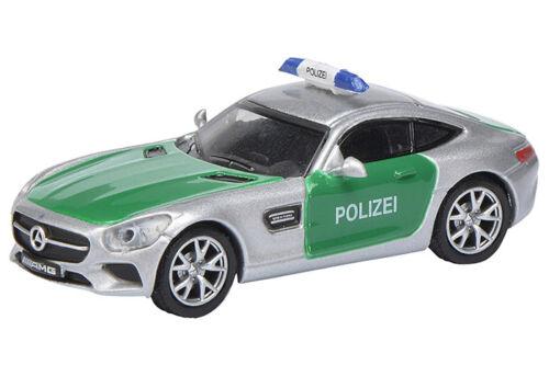 Mercedes Benz GT s AMG policía 26284 Schuco Edition 1:87