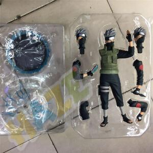 Naruto-Hatake-Kakashi-Estatua-PVC-Figure-30cm-Juguete-Nuevo-En-Caja