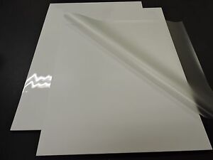 """Pouch Board - White Gloss 18.5""""x25"""" (10 sheets)"""