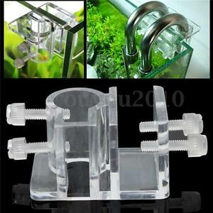 Acrylic-Aquarium-Hose-Tube-Fixing-Clip-Clamp-Holder-For-Dia-20mm-Water-Pipe-new