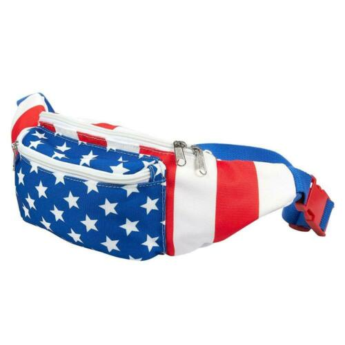 Patriotic Waist Bag for... Juvale USA Fanny Pack American Flag Pack