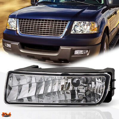 For 03-06 Ford Expedition SUV OE Style Clear Front Bumper Driving Fog Light//Lamp