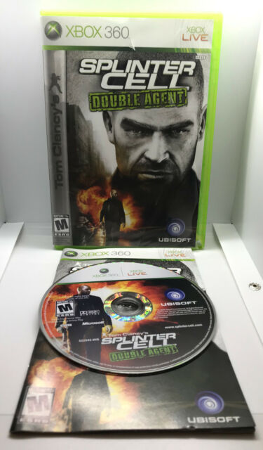 Splinter Cell Double Agent -Complete -Bad Cond Case but Tested & Works- Xbox 360