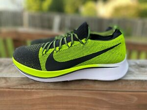 Nike Zoom Fly Flyknit Black Volt