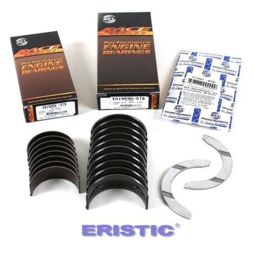 ACURA HONDA ACL RACE Bearings Kit 1.6L D16A1 D16A6 D16Y5 D16Y7 D16Y8 D16Z6 D16Y