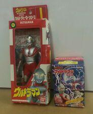 """ULTRA RARE! 1991 Bandai Ultraman #1 NEW in Box  6.5"""" Ultra Hero Series w/ BONUS"""