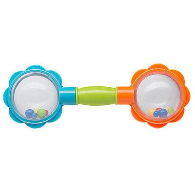 RASSEL  Motorikrassel  Baby  Spielzeug °ToP-AnGeBoT° Hantel  673 NEU