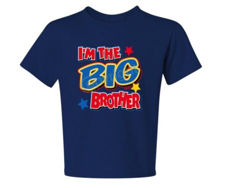 I/'m The Big Brother kids T-Shirt JERZEES Size 6 Months To 18-20 The Best