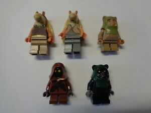 Lego star wars personnage figurine minifig choose model ebay - Personnage star wars lego ...