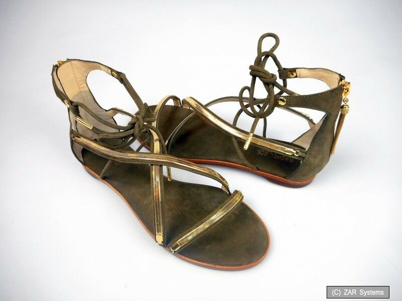 Rachel Zoe rzb-000374 Babette Kid Suede, señora señora señora sandalias, sandalias tamaño 40,5 2c33ce