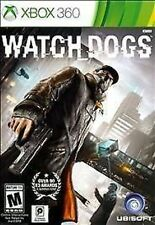 Watch Dogs USED SEALED (Microsoft Xbox 360, 2014)