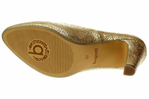 bugatti HAVEN 804-gold V7962-PR6N Damen Schuhe Pumps
