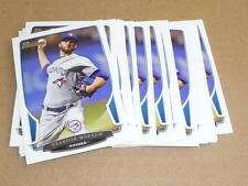 2013 Bowman BASE PAPER BRANDON MORROW LOT OF 25 TORONTO BLUE JAYS #33
